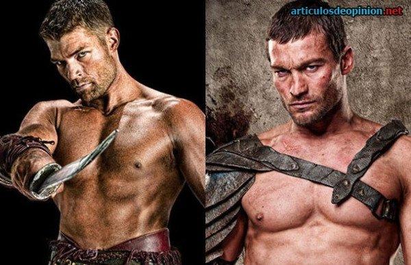 Espartaco o Spartacus - La serie legendaria - Cine y TV
