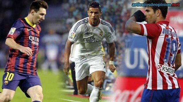 Messi Cristiano y Costa