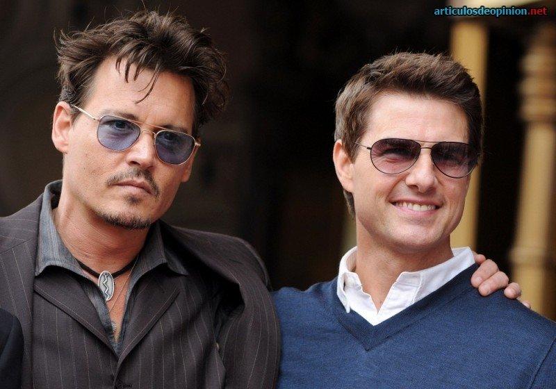 Johnny Depp y Tom Cruise
