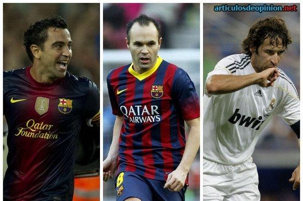 Mejores jugadores españoles