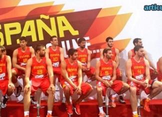 España baloncesto 2014