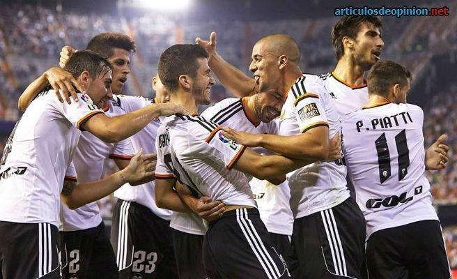 Valencia líder