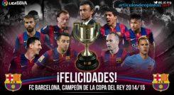 Barcelona Copa del Rey 2014-15