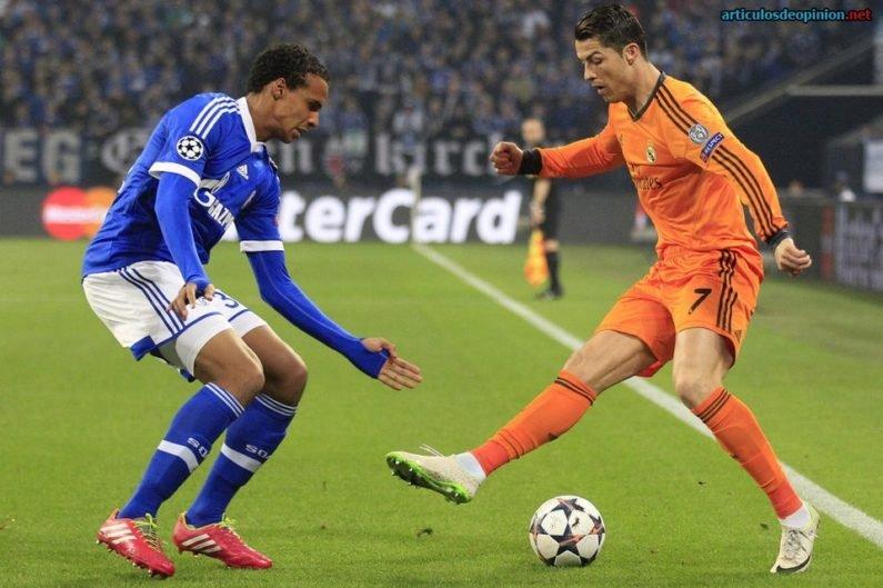 Cristiano Ronaldo regate