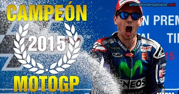 Lorenzo tricampeón