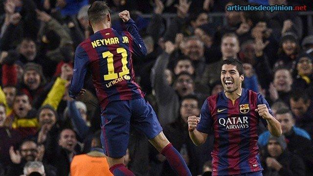 Neymar y Suárez
