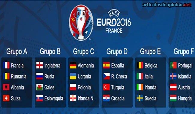 Eurocopa 2016 – Calendario, resultados, resúmenes…