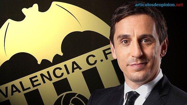 Gary Neville Valencia entrenador