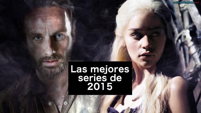 Las mejores series de 2015
