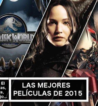 Las mejores películas de 2015