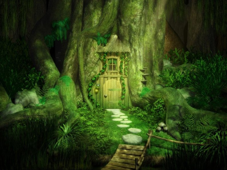 Puerta fantasía