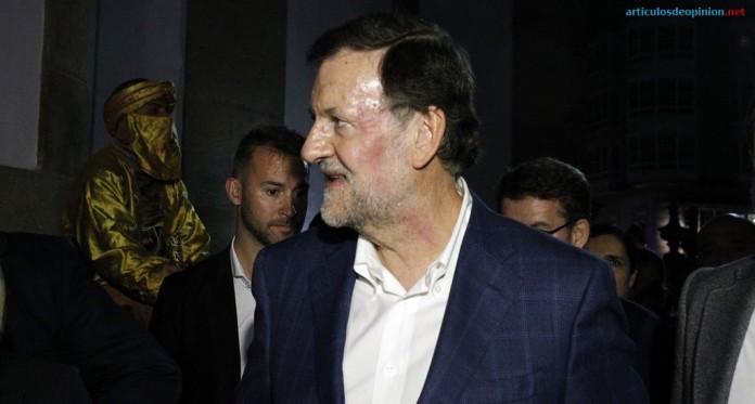 Rajoy agredido