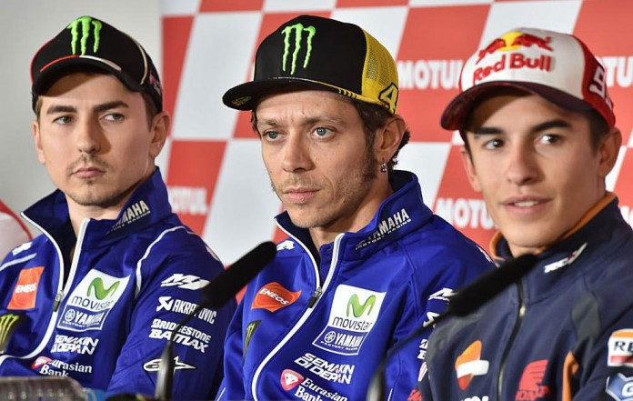 Lorenzo, Rossi, Márquez
