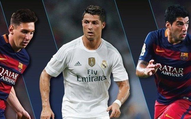 Messi - Cristiano - Suárez