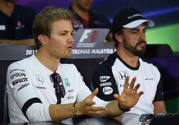 Rosberg - Alonso