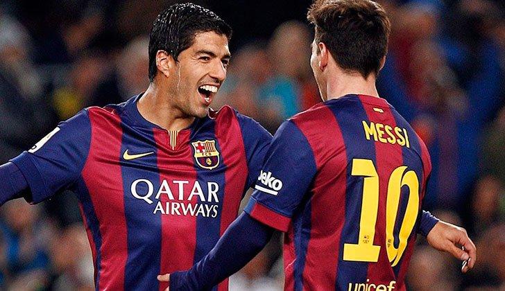 Suárez - Messi