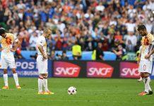 España pierde con Italia
