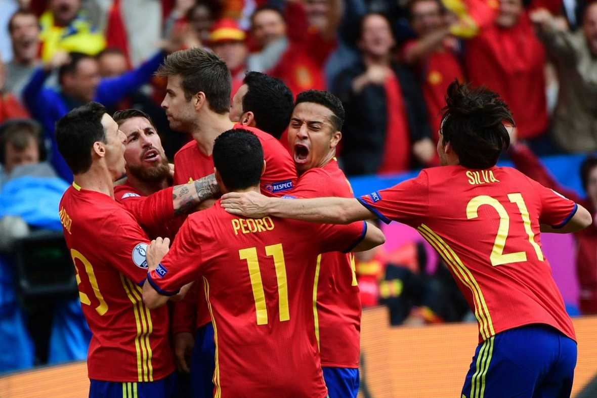 Gol España Euro 2016