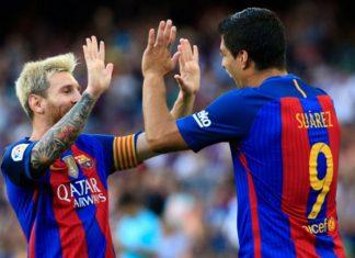Messi rubio Suárez