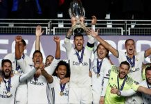Real Madrid Supercopa de Europa