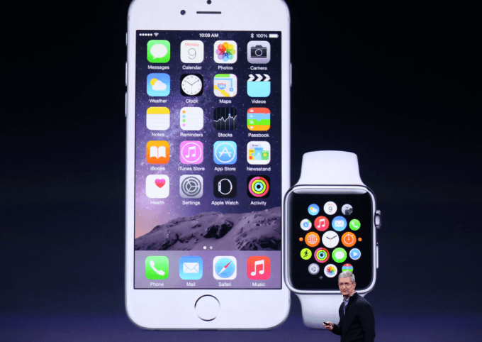 iPhone Apple Watch