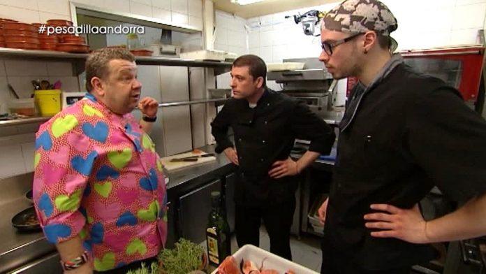 Pesadilla en la cocina telerrealidad culinaria de for Pesadilla en la cocina brasas