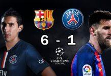 Remontada histórica del Barcelona contra el PSG