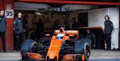 Alonso McLaren naranja