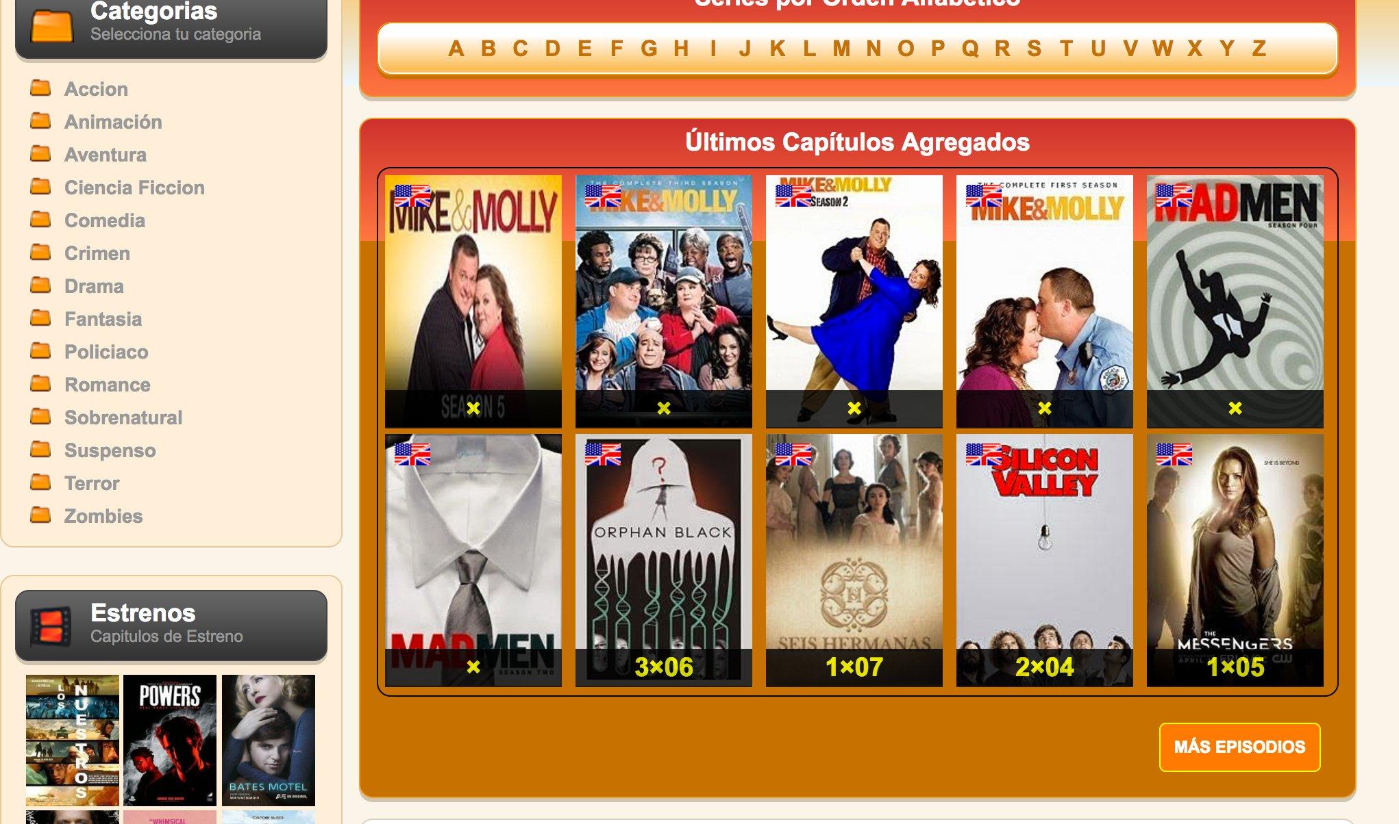 VerSeriesyNovelas - Web para ver series online | articulosdeopinion.net