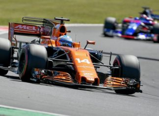 Fernando Alonso sexto y vuelta rápida
