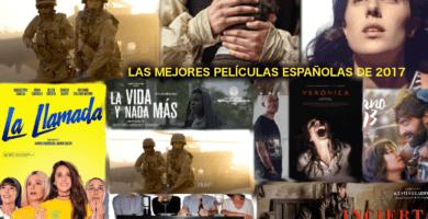 Las mejores películas españolas de 2017