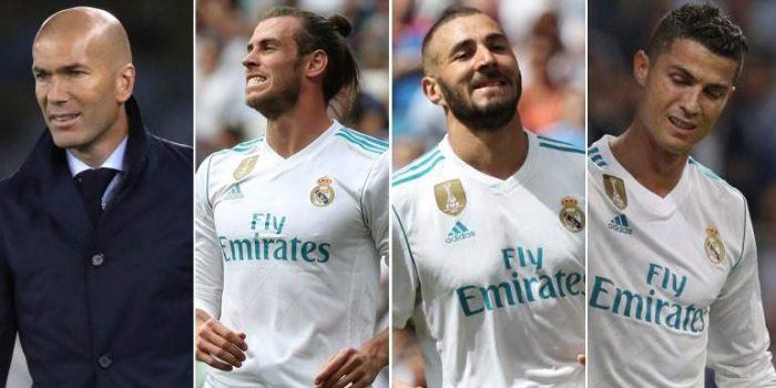 El Real Madrid se hunde en la Liga