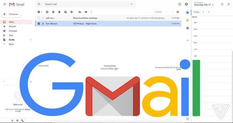 Así será el nuevo diseño de Gmail correo electrónico