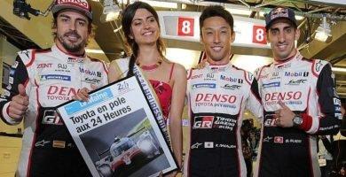 Fernando Alonso gana las 24 horas de Le Mans