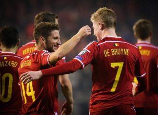 Los mejores jugadores de fútbol belgas