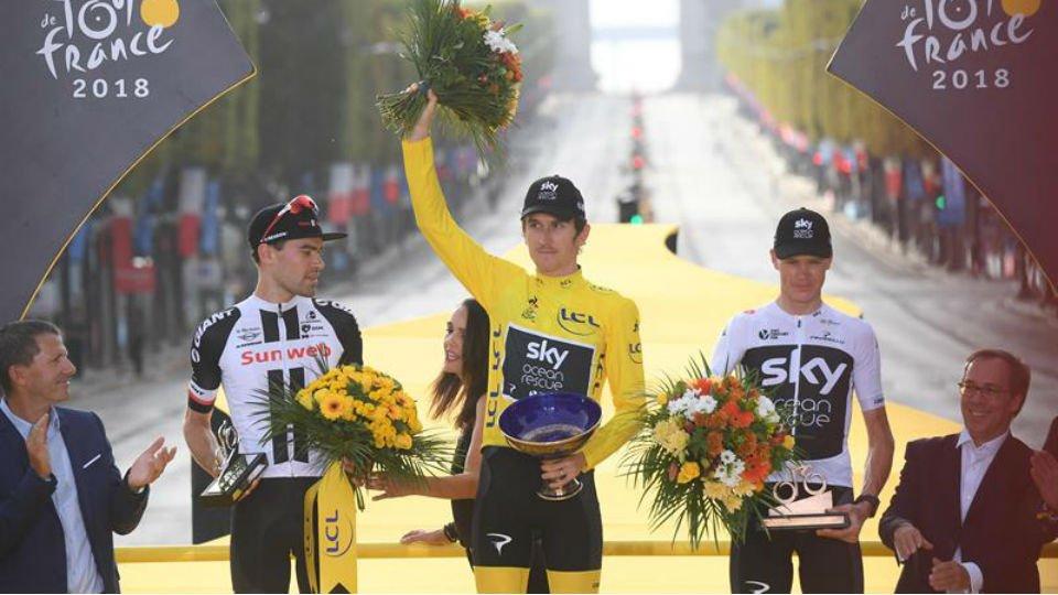 Thomas gana el Tour de Francia 2018
