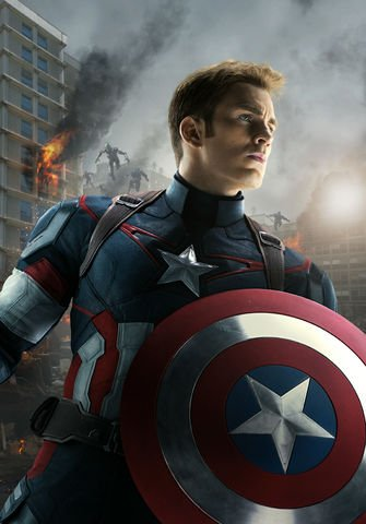 Merchandising Capitán América