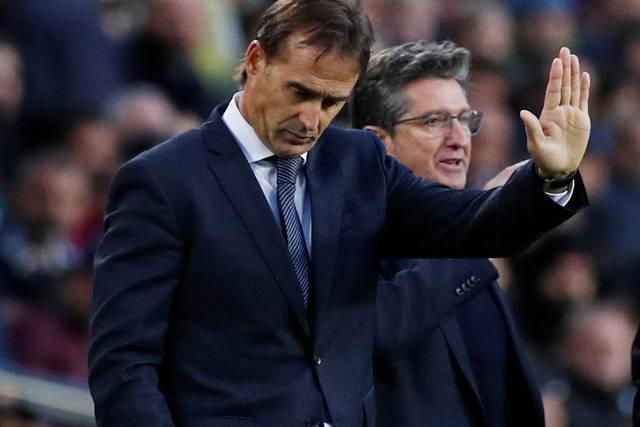 El Real Madrid despide a Lopetegui