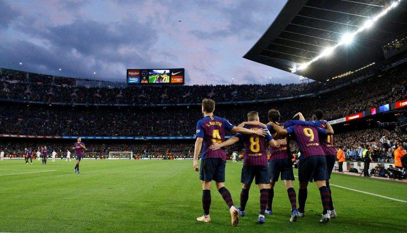 Manita del Barcelona que hunde a Lopetegui