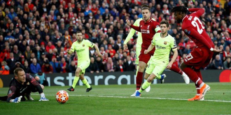 Remontada histórica en el Liverpool Barcelona