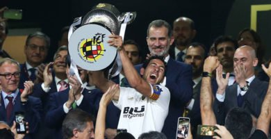 El Valencia gana la Copa del Rey en su Centenario