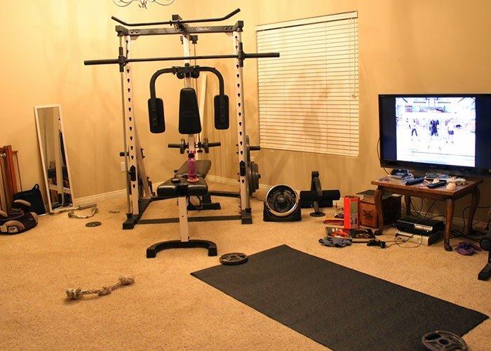 Monta tu propio gimnasio en casa
