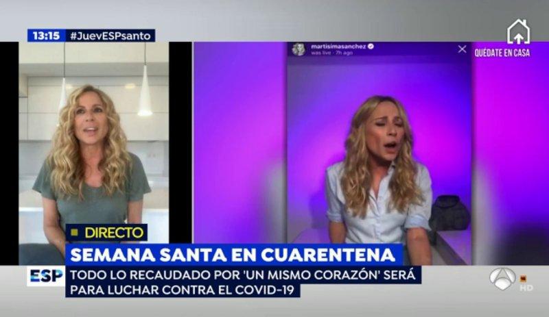 Videoclip de Marta Sánchez contra el COVID-19