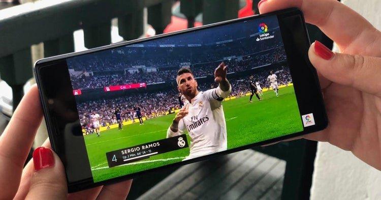 Mejores apps para ver fútbol gratis