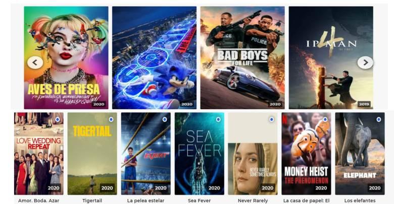 Mejores webs para ver películas y series gratis
