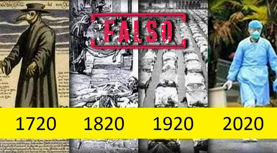 Una pandemia cada 100 años