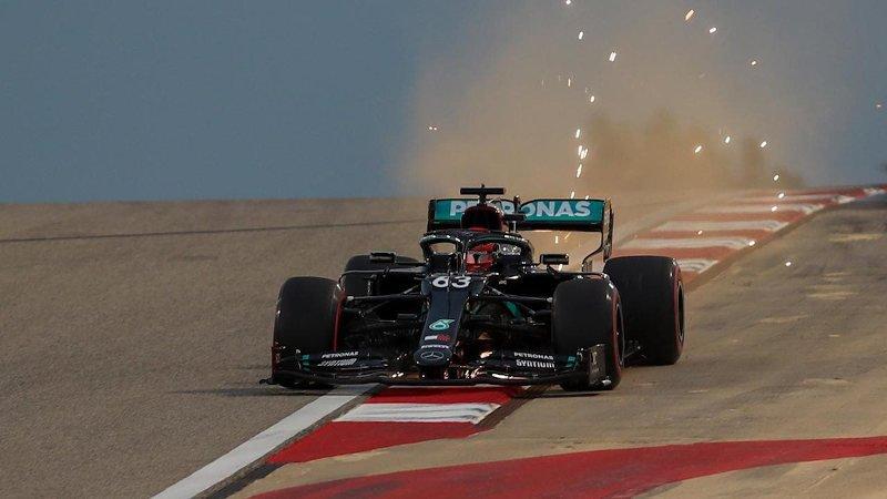 Russell reclama el Mercedes de Bottas