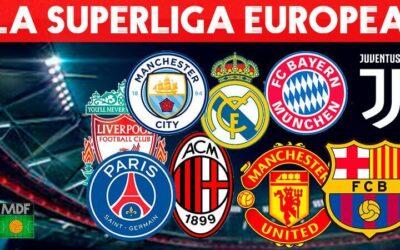 ¿Cómo sería la Superliga Europea?