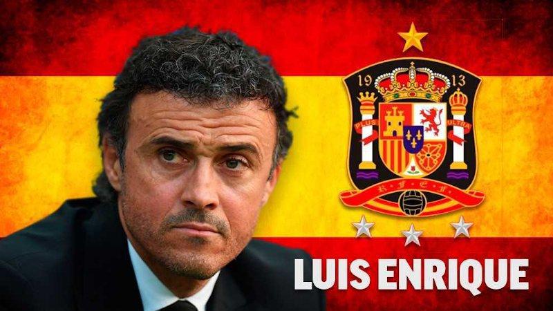 Luis Enrique es la estrella de la Selección Española