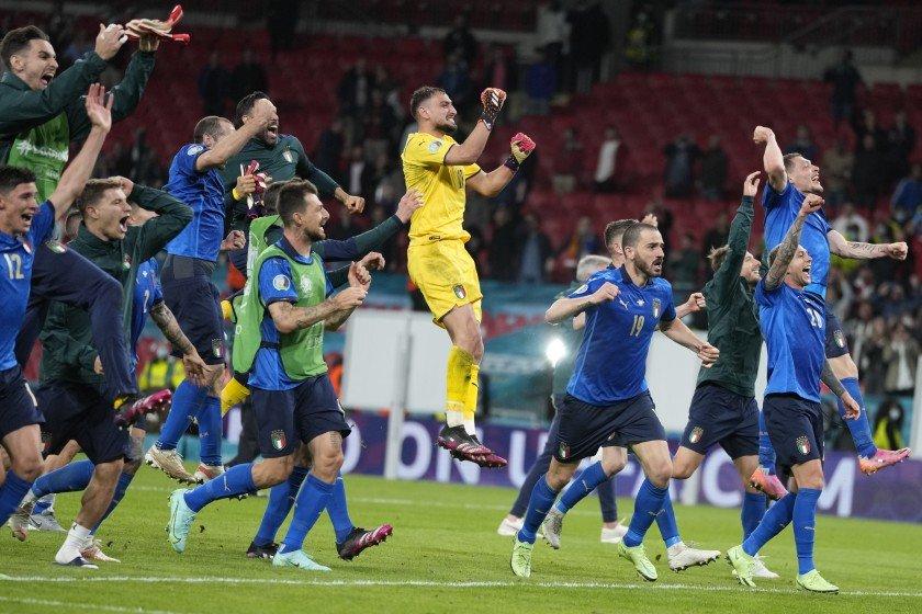 Italia gana Inglaterra en la final y gana la Eurocopa